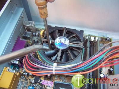 Fazer a limpeza do computador e da ventoinha
