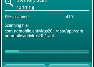 Kaspersky Mobile Security o melhor antivirus para celular e tablet smartphone - fazendo verificação por vírus