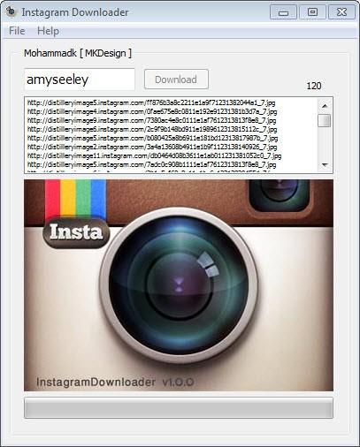 Programa para baixar fotos do Instagram - Salvar todas fotos de alguém