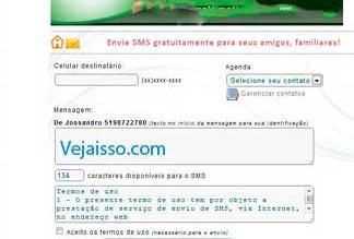 Como mandar mensagem SMS de graça pelo Facebook - Enviar Torpedos
