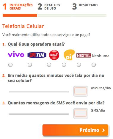 Comparar preços operadoras de celular - Preço planos celular VIVO, TIM, OI, CLARO, NEXTEL