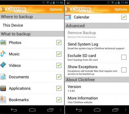 Melhor App para fazer backup do celular ou tablet Android grátis