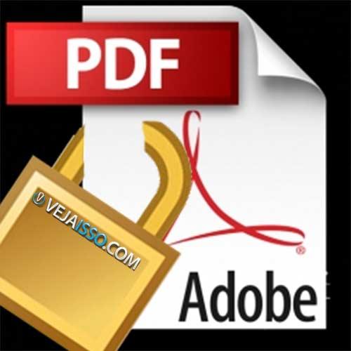 Quebrar senha PDF hoje é simples e fácil com o uso de sites grátis - Voce envia o documento e ele remove o password do PDF para você