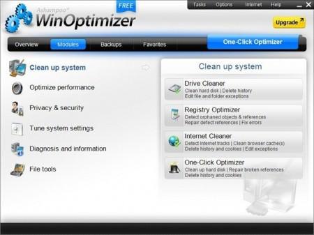 Ashampoo - WinOptimizer- Grátis, um programa para limpar, acelerar, desfragmentar e consertar erros
