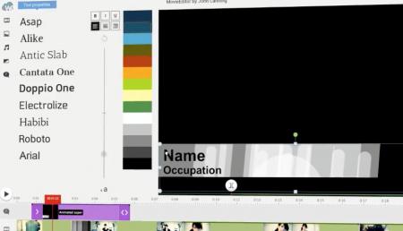 Inserir texto no vídeo de maneira profissional como o jornal - Nome e profissão com efeitos visuais, fonte e cor