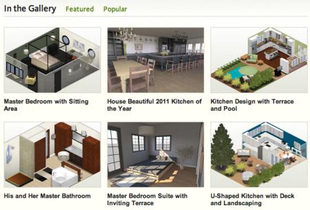 Mais de 50000 modelos de banheiros, cozinhas, jardins, terrenos, casas inteiras para construir