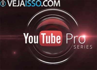 Série de videos YouTube Pro foi criada para tirar o amadorismo e permitir que qualquer um se torne um profissional, mesmo a partir de seu estudio em casa