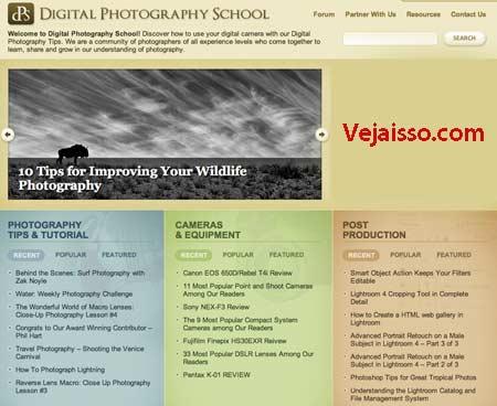 Aprender a tirar fotos grátis - melhor blog sobre dicas e aulas sobre fotografia, abrangendo do equipamento ate técnicas e pos produção