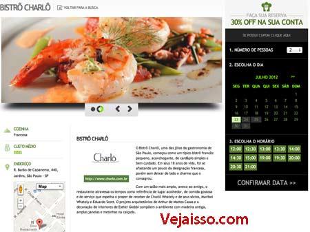 Fazer reserva restaurante online com desconto - Reservar mesa online