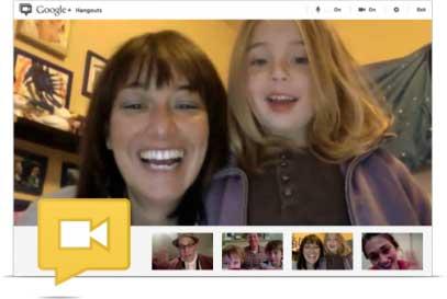 Google Hangout - Videoconferencia com ate dez pessoas diretamente do navegador de internet