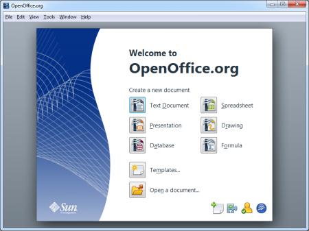 OpenOffice a opcao grátis para editar textos, tabelas e apresentacoes, salvando compatível com Word, Excel e Powerpoint
