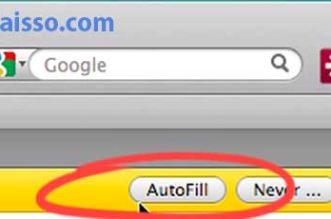 Banner amarelo do LastPass informando que ele já sabe seu password e perguntando se você quer que ele complete automaticamente para você