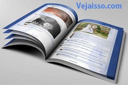 Criar um livro com status, comentários e fotos do Facebook - Imprimir a biografia de alguém usando os dados digitais do Face