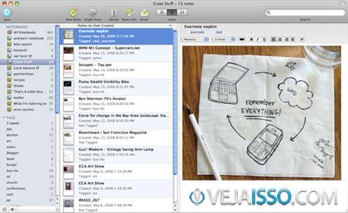 Evernote o melhor programa para fazer anotações e tomar notas no Mac