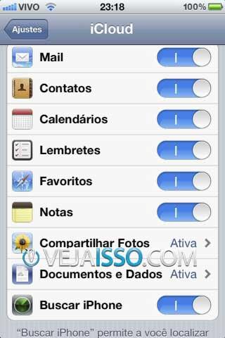 Certifique-se que dentro da opção iCloud, apos ter criado sua conta @icloud.com você ativou a função Buscar iPhone ou Buscar iPad