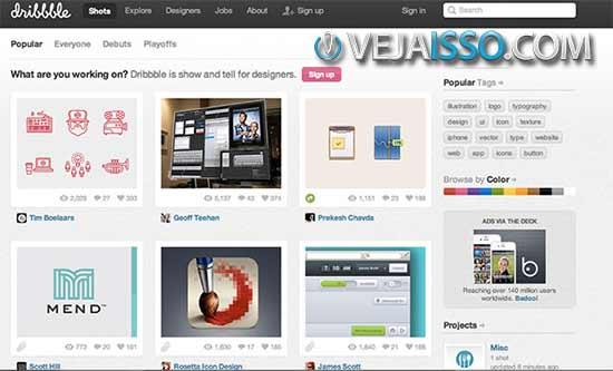 Online Design Portfolio Sites