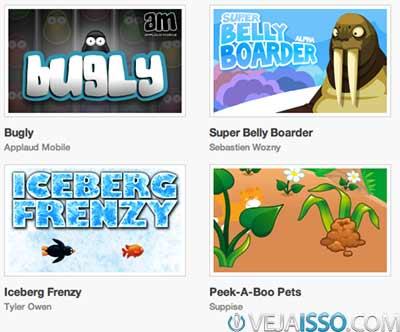 Milhares de estilos de jogos como Angry Birds, Tetris, Asteroid, jogos de tiro 2D e de corrida 2D prontos para você criar e modificar como quiser