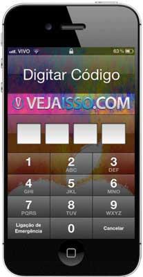 Tela de Bloqueio do iPhone e iPad - A primeira proteção anti-furto contra assalto dos aparelhos da Apple, obrigatório uso!