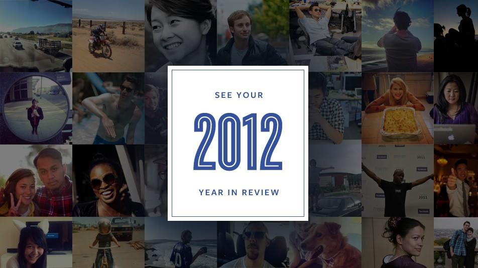 Retrospectiva do ano: seus melhores momentos no Facebook