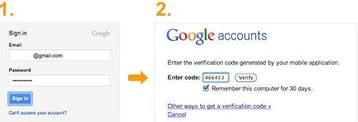 Ative a autenticação em 2 passos para aumentar a seguranca na sua conta do Google Gmail, Google+ e Facebook