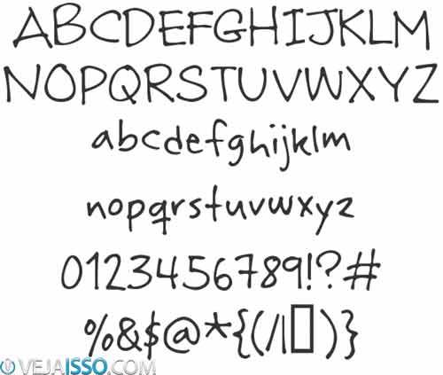 Criar Fonte Caligrafia Cursiva Pr  Pria Gr  Tis     Sua Letra No PC