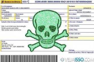 Vírus de Boleto Bancário pode te dar muita dor de cabeca ao fazer pagar a pessoa errada