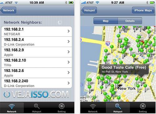 App para iPhone para encontrar Pontos de Wifi que funciona de forma excepcional