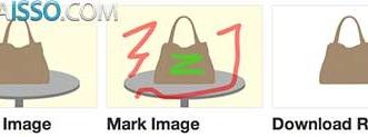 Como tirar fundo foto online com 3 cliques - Arrastar a foto, marcar a area a ser mantida e marcar a area a ser removida e FIM