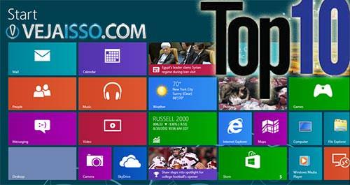 Nossa llista com os Top 10 melhores programas para Windows 8 grátis para download