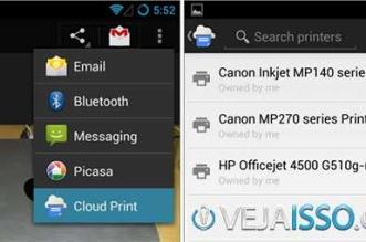 Apresentação do App Cloud Print para imprimir do celular pela Internet ou via Wifi com app grátis
