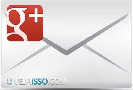 Google+ até permite enviar mensagem particular, mas não facilita, prefere que você opte pelo email ou por chat