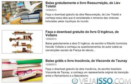 Universia incentiva a educacao com auxilio as faculdades e distribuindo livros completos na forma de ebooks - acervo de mais de 1000 livros