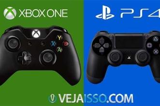 Comparação PS4 e Xbox One: qual o melhor videogame para comprar