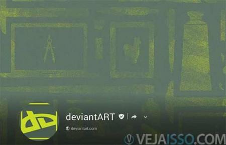 DeviantArt ha muito tempo e o site que mais bem representa e agrega arte, tambem compartilhando seus principais trabalhos no Google+