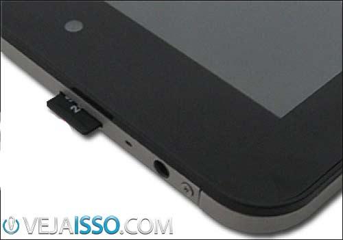 Espaço em armazenamento dos tablets na maioria das vezes é suficiente na menor quantidade, mas muitos tablets já aceitam cartão SD para expandir posteriormente