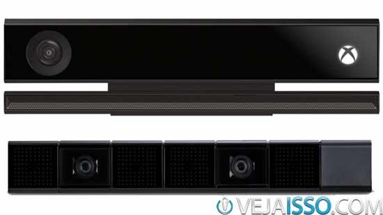 Kinect 2 vs PS4 Eye os sensores de movimento da Microsoft e Sony, bem diferentes em qualidade e funcionamento