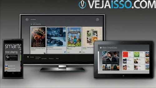 Microsoft Xbox One Smartglass vai trazer a tela do seu videogame e funcoes avancadas diretamente do seu tablet e smartphone, seja ele Android, iOS ou WIndows Phone
