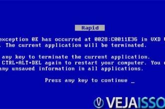 Erro fatal no Windows - Entendendo por que o computador trava e seus principais motivos permite que você resolva o problema sozinho