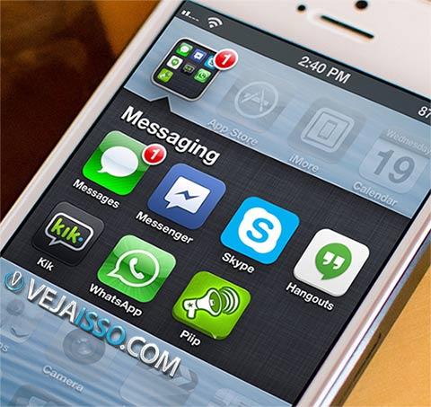 Melhores apps de mensagem de iPhone e Android, mandar mensagem online