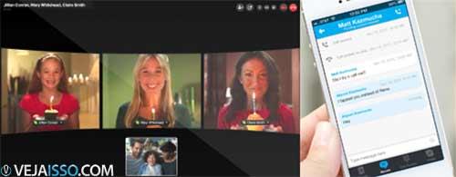 Skype é o melhor programa para fazer ligações VoIP também é uma boa ferramenta de chat, apesar de algumas deficiências