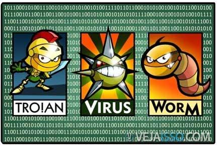 Vírus, trojan, malware e phishing colaboram para danificar o seu computador - como se ja nao bastassem os erros e bugs