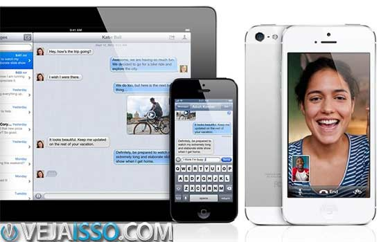 iMessage e Facetime simplesmente funcionam, porém são fechados apenas para quem tem iPhone, iPad e iMac, além de nem sempre funcionarem de forma adequada, em sincronia