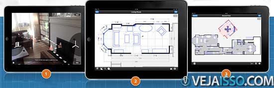 Criar a planta da casa sem medir e sem desenhos de forma automática deve ser o sonho de todo arquiteto, decorador ou engenheiro que se tornou realidade