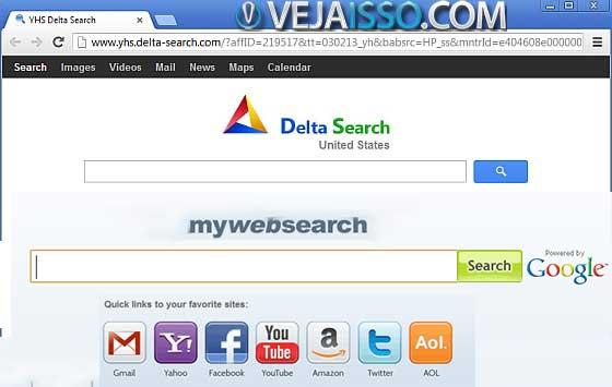 Deve ser incluindo na definiçãoo de vírus os malwares como MyWebSearch e o DeltaSearch, que instalam-se no PC e sequestram o seu navegador de internet, instalando programas, barra de pesquisa e coletando dados a seu respeito