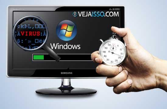 PC lento é um dos principais sintomas de vírus de PC - O uso intensivo do CPU e memória causam isso