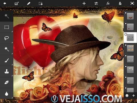 Photoshop Touch traz todo o poder dos algoritmos e ferramentas do Photoshop para se tornar um ótimo editor de fotos para iPhone e iPad