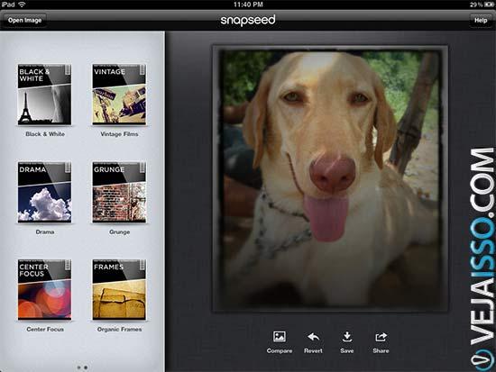 Snapseed, o melhor programa para editar fotos no iPhone e iPad, grátis e completo