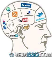 Sobrecarga de uso de redes sociais impede a atencao e formacao de conexões significativas, o que diminui suas chances de ser popular