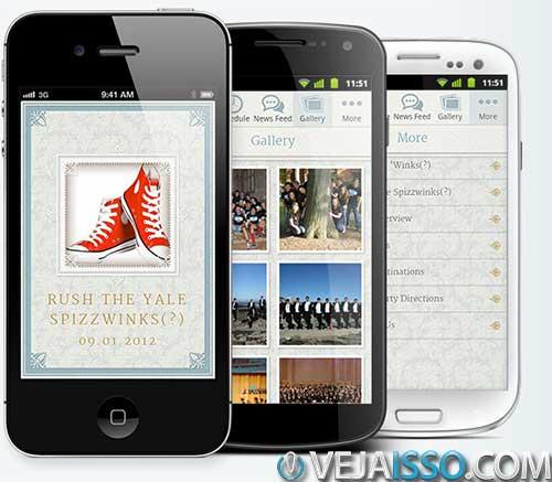 Yapp permite que você crie apps simples em tempo recorde com sua interface de Arrastar e soltar, clica aqui vai para la