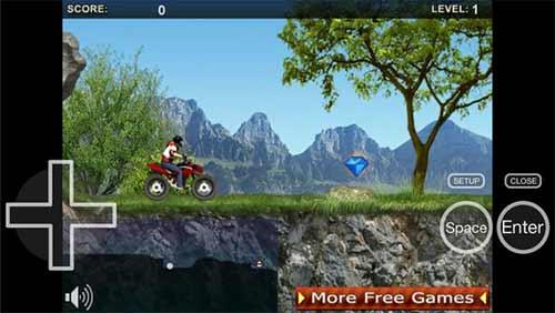Puffin Browser consegue rodar jogos em flash ao rodar na nuvem, mesmo no iPhone e iPad, além de apresentar ou mouse ou controles virtuais